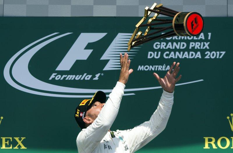 Hamilton gana el Gran Premio de Canadá y se acerca a Vettel